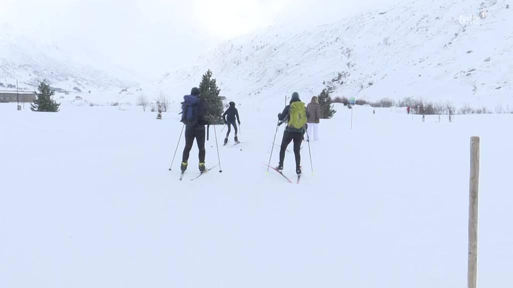 Aus dem Skigebiet wurde ein Winter-Wanderparadies