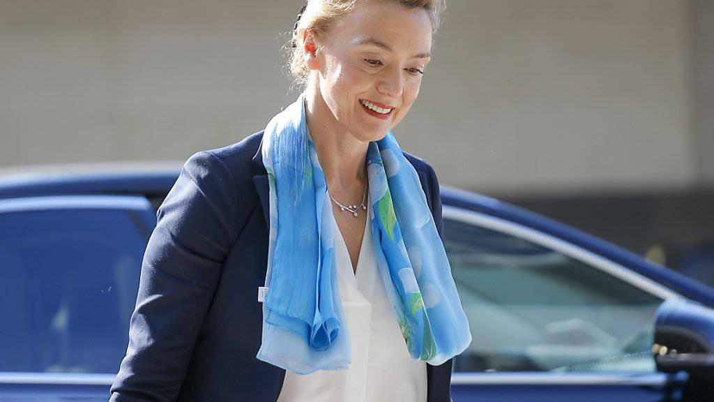 Neue Generalsekretärin des Europarats: Marija Pejcinovic Buric, seit 2017 kroatische Aussenministerin und stellvertretende Regierungschefin. (Archivbild)