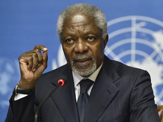 Ex-Uno-Generalsekretär Kofi Annan starb im Alter von 80 Jahren.