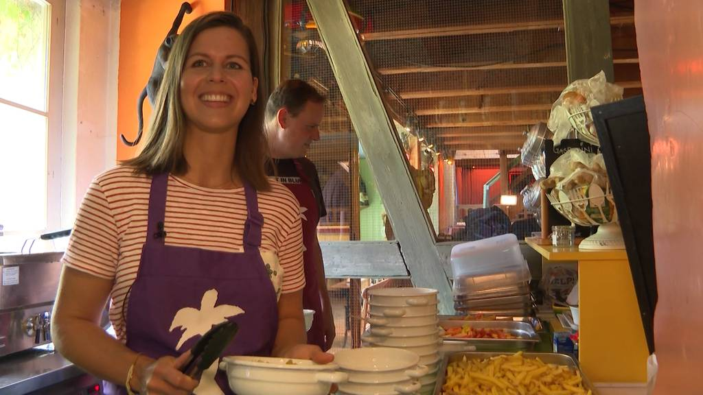 Oesch's die Dritten kochen in Mühle Hunziken