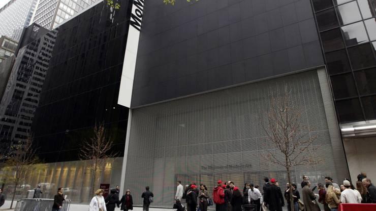Das Museum of Modern Art (MoMA) in New York. (Archivbild)