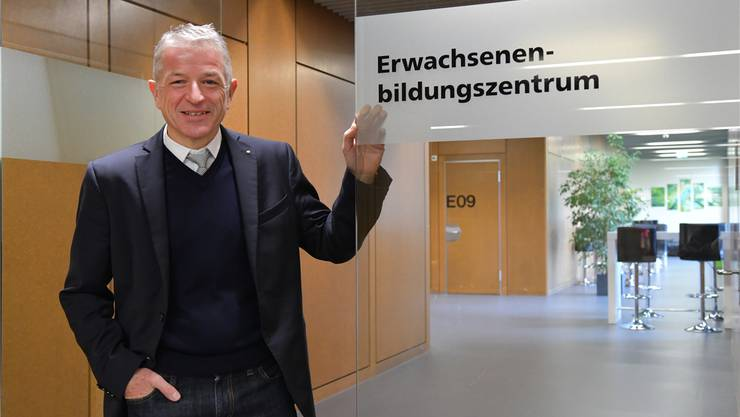 Legt grossen Wert auf die Erwachsenenbildung: Georg Berger, Direktor des Berufsbildungszentrums Olten.