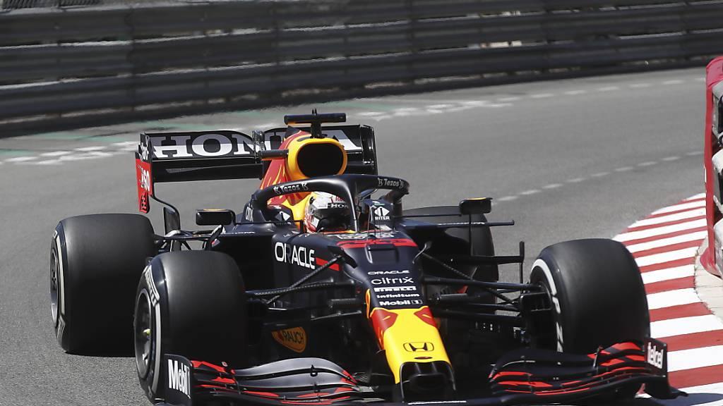 Will nach seinem Sieg in Monaco nachdoppeln: WM-Leader Max Verstappen im Red Bull