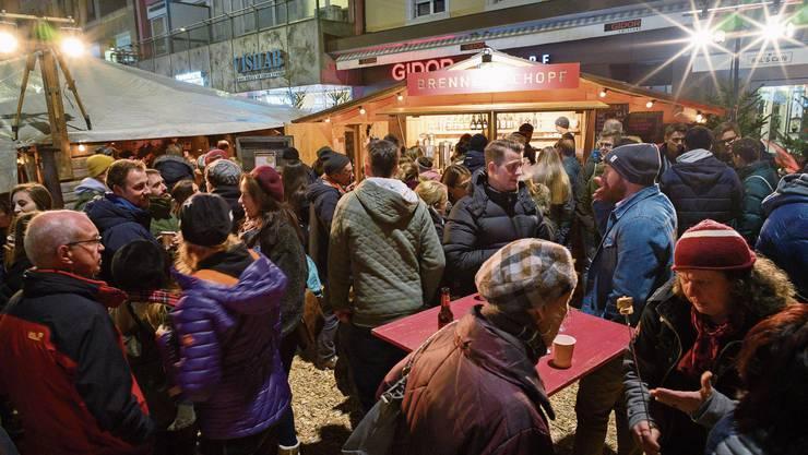 Aktionen wie der Badener Winterzauber sollen Gäste anlocken, von denen auch der Detailhandel profitiert.