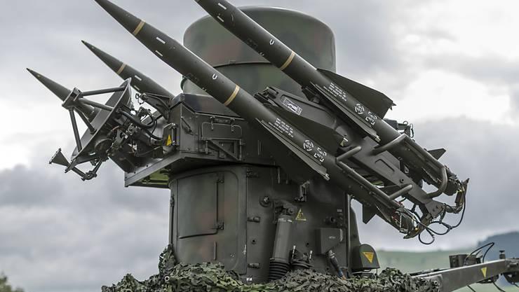 Waffensystem der Fliegerabwehr der Schweizer Armee (Symbolbild)