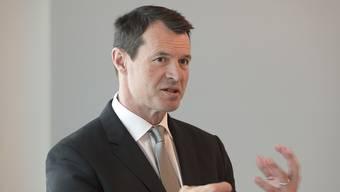 Der Chef der Basler Kantonalbank, Guy Lachapelle, soll neuer Raiffeisen-Präsident werden. Auf ihn warten einige Baustellen. (Archiv)