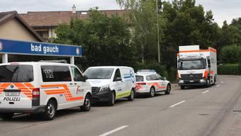 In Arlesheim waren am Freitag rund 50 Polizeikräfte im Einsatz.