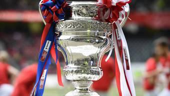 Der Pokal des Schweizer Fussball-Cups.