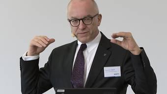 Der ehemalige Finanzchef der Baloise-Gruppe, German Egloff, ist am Samstag einer schweren Krankheit erlegen. (Archivbild)