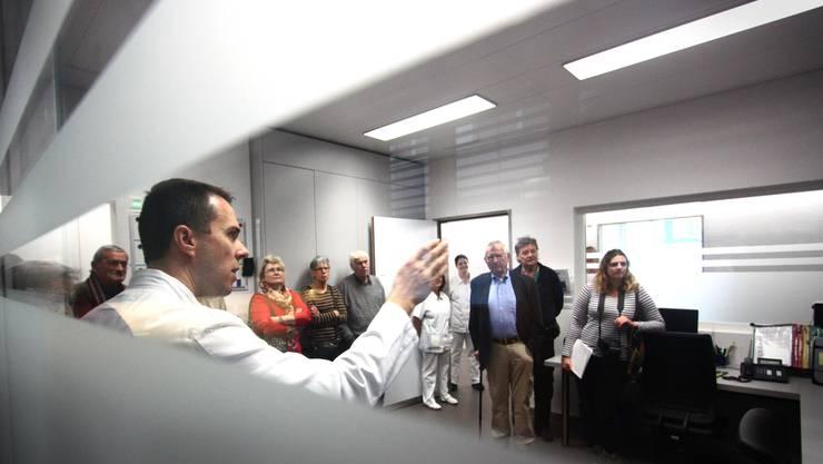 Seit Beginn dieses Jahres führt Dr. Cyrill Morger das Notfallzentrum der Hirslanden Klinik Aarau.