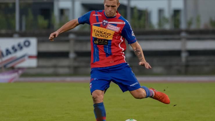 Michele Monighetti erzielte mittels Penalty den ersten Treffer der Partie