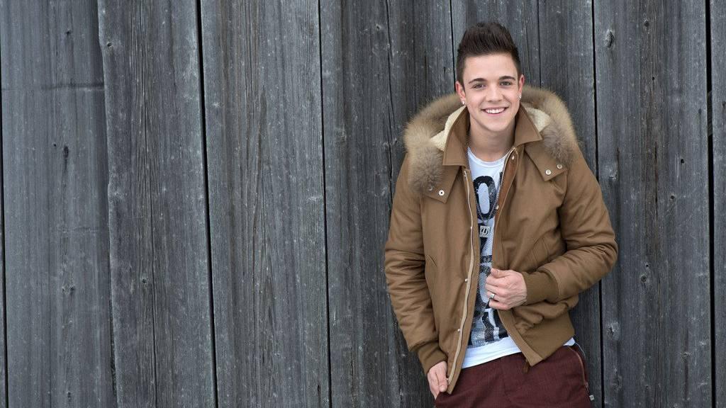 Luca Hänni vertritt die Schweiz am ESC