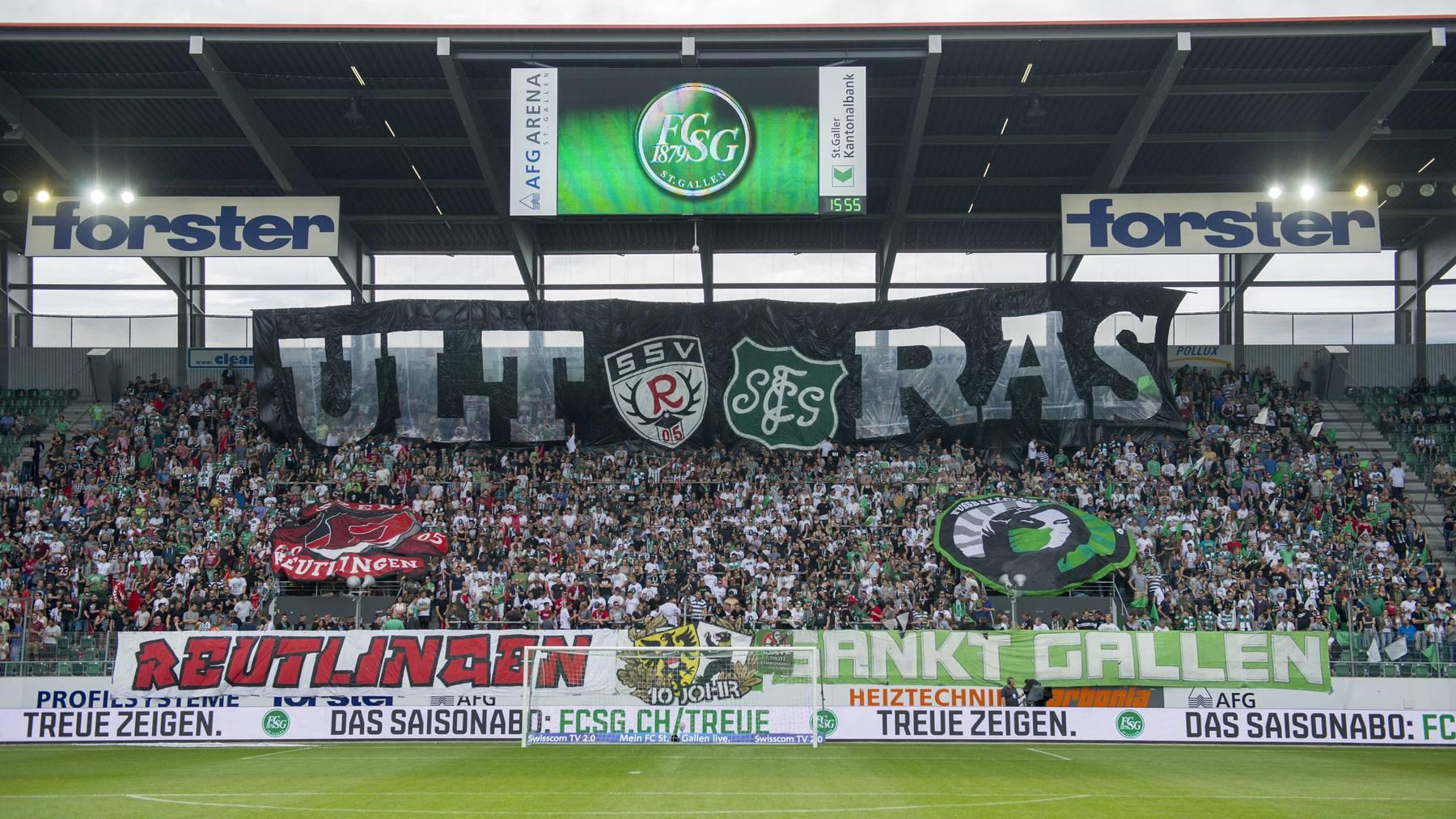 Der Dachverband 1879 hat zusammen mit dem FC St.Gallen eine neue Stadion-Hymne komponiert.