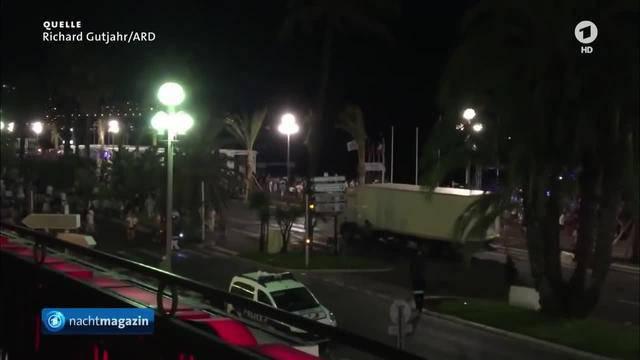Sondersendung — Terror in Frankreich: LKW-Anschlag in Nizza