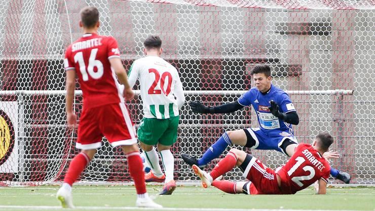 Der FC Baden will den neunten Sieg in Serie realisieren.