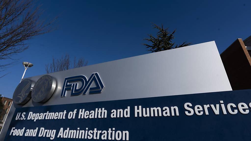 Das Gebäude der «U.S. Food and Drug Administration» (FDA), der US-Behörde für Lebens- und Arzneimittel. Foto: Manuel Balce Ceneta/AP/dpa