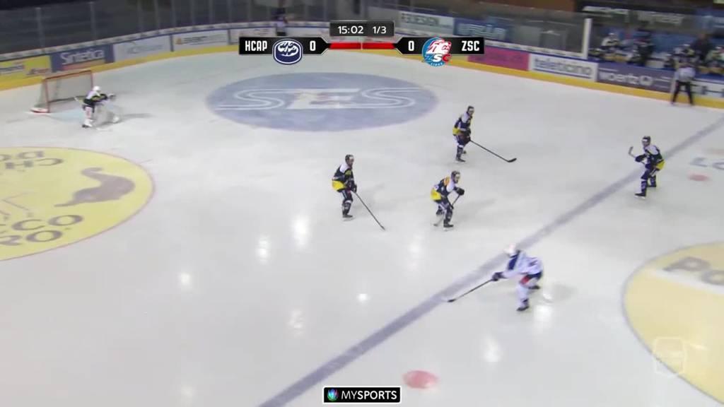 Ambri-Piotta gewinnt mit 2:1 gegen die ZSC Lions