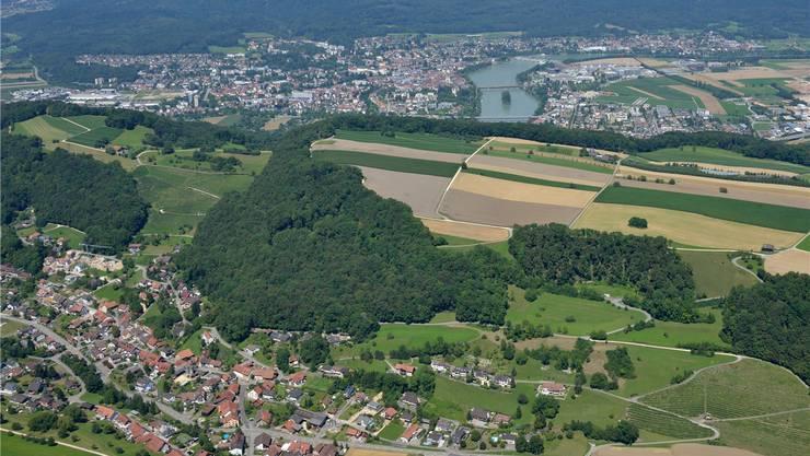 Aus dem Anflug wird nichts: Die vier Gemeinden im mittleren Fricktal fusionieren nicht.
