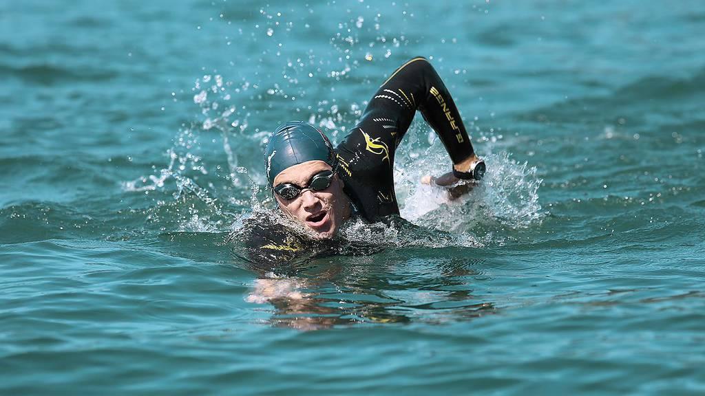 Extremschwimmer Romano Mombelli