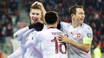 Ende gut, alles gut: Dank Debütant Cedric Itten konnte die Schweiz am Ende gegen Georgien jubeln
