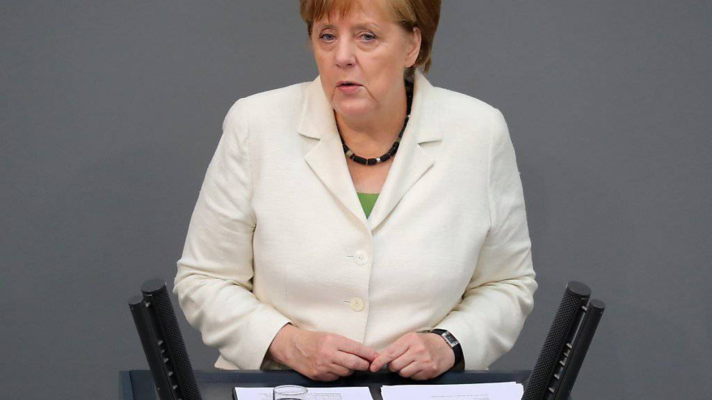 Keine Rosinenpickerei für die Briten. Das kündigte die deutsche Bundeskanzlerin Merkel an.