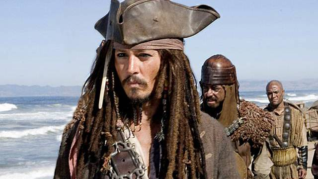 Johnny Depp als Pirat Jack Sparrow (Archiv)