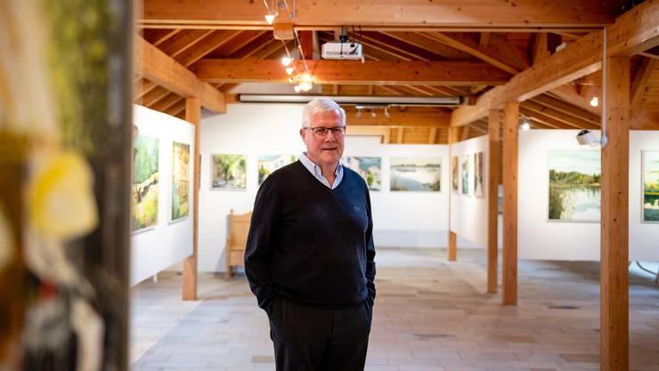 In seiner Galerie Chürzi zeigt Otto Jost Ausschnitte aus seinem Schaffen.