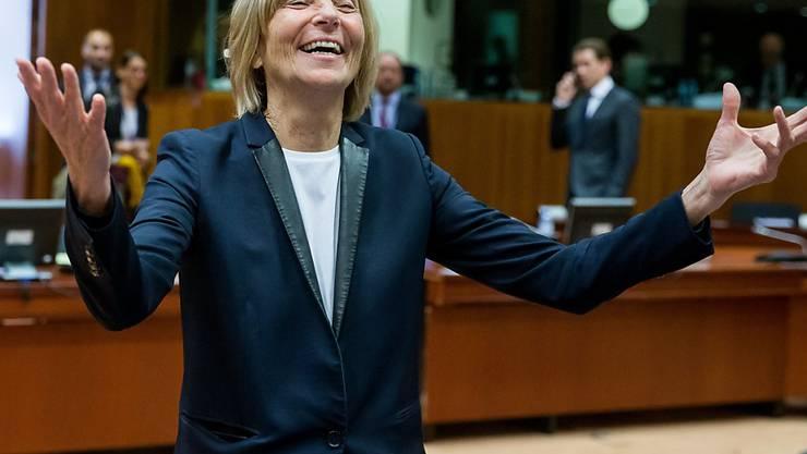 Soll öffentliche Gelder veruntreut haben: die frühere französische Europaministerin Marielle de Sarnez. (Archivbild)