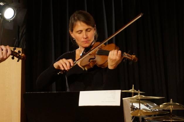 Violinistin Judith Müller.