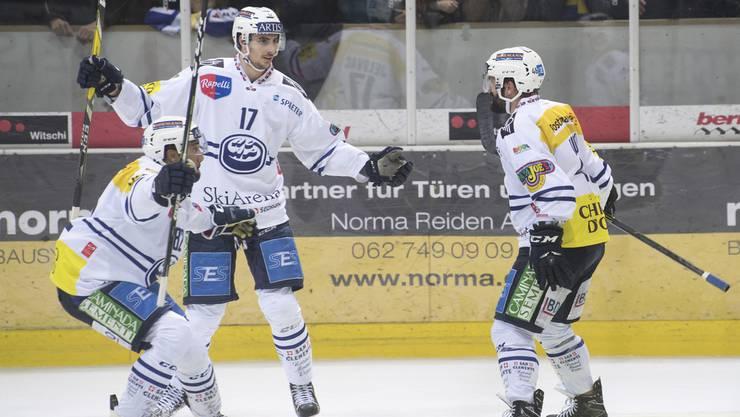 Ambri-Piotta gewinnt auch das vierte Spiel gegen Langenthal und bleibt in der NLA.