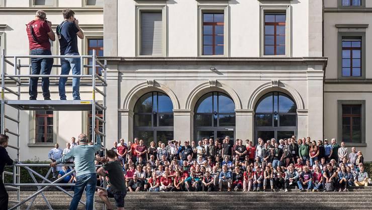 289 Wikipedianer trafen sich vergangenes Wochenende an der neunten Wikicon in St.Gallen – so viele wie noch nie an einer deutschsprachigen Wikipedia-Konferenz.