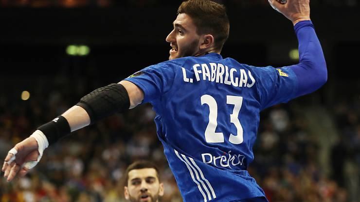 Ludovic Fabregas war zum Auftakt der WM-Hauptrunde gegen Europameister Spanien der beste Torschütze bei Titelverteidiger Frankreich