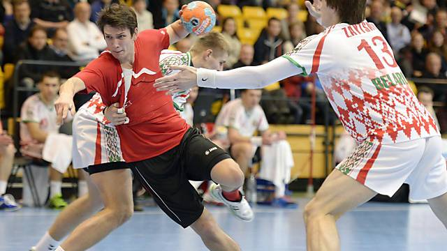 Nationalspieler Nicolas Raemy beim Yellow Cup in Winterthur