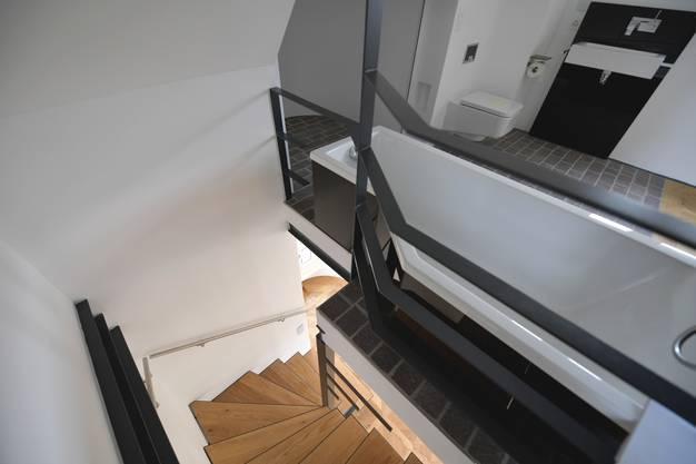 Die Treppe nach unten