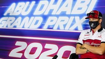 Im Grand Prix von Abu Dhabi starteten zum 500. Mal Fahrer des Teams Sauber/Alfa Romeo (hier Kimi Räikkönen) zu einem Formel-1-Rennen