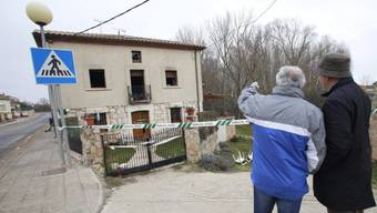 In diesem Haus im spanischen Tordómar starben sechs Menschen