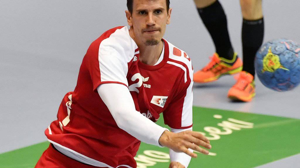 Der Schweizer Internationale Andy Schmid wurde zum fünften Mal in Folge zum MVP der deutschen Bundesliga gewählt