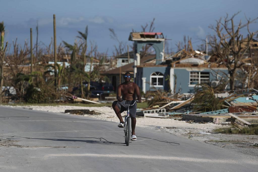 Hurrikan «Dorian» hinterliess auf den Bahamas eine Schneise der Zerstörung. (© Keystone)