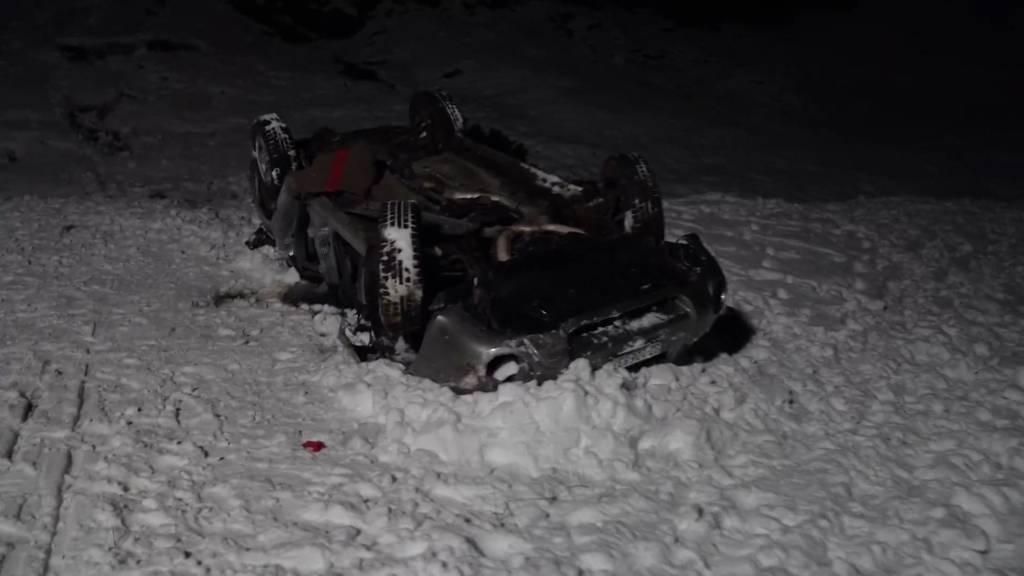 Muotathal: Schwerverletzter nach Autounfall
