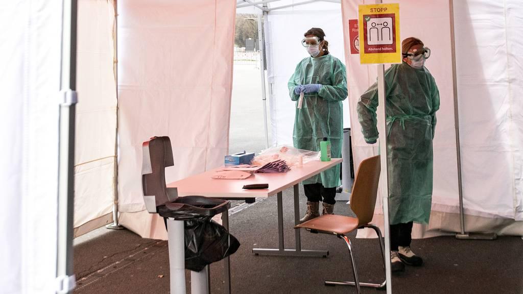 Sind die Luzerner Testcenter für einen Ansturm gerüstet?