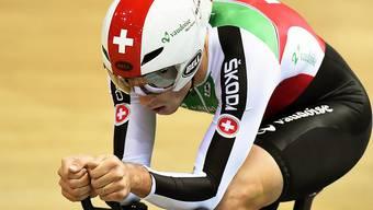 Claudio Imhof und seine Kollegen fahren an den WM-Medaillen vorbei
