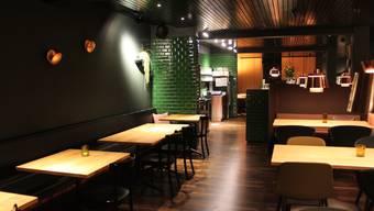 Ein erster Blick ins umgebaute Restaurant Parktheater Grenchen