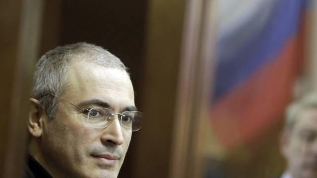 Ex-Yukos-CEO Michail Chodorkowski (Archiv)