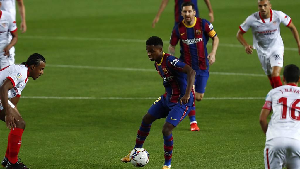 Ansu Fati bekommt die Rückennummer von Lionel Messi