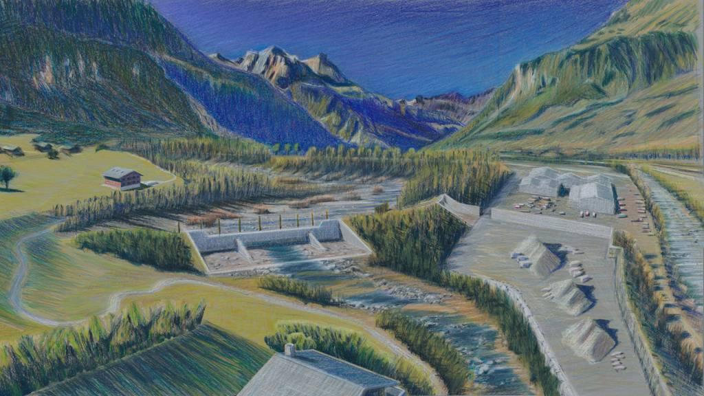 Nidwaldner Talboden wird besser vor Hochwasser geschützt