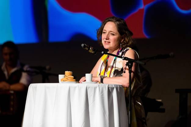 Festivalleiterin Annette Schindler bei der Eröffnungsfeier.