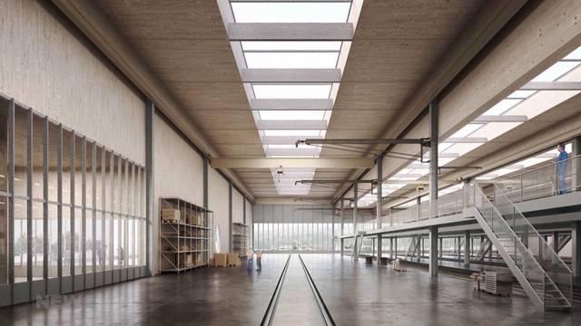 So soll die neue BLS-Werkstätte in Chliforst Nord aussehen