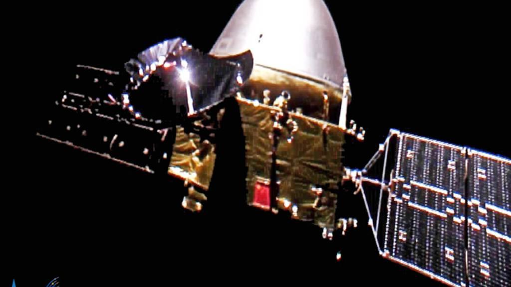 Chinas Mars-Sonde erreicht Parkposition in Umlaufbahn