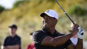 Tiger Woods kann nach langer Zeit wieder seinem Ball nachschauen