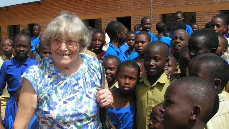 «Helfen dürfen macht glücklich»: Dieses Fazit zog Margrit Fuchs immer wieder bei ihrem Engagement in Ruanda. NN